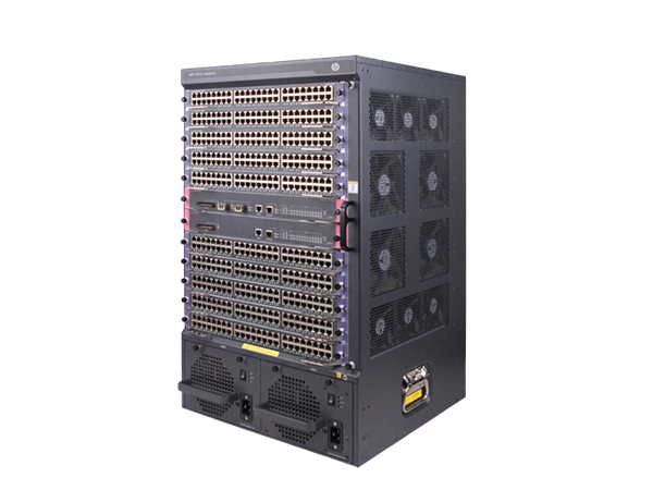 Switch HPE JH333A FlexNetwork 7510 with 2x2.4Tbps Fabric and Main